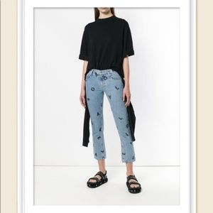 NWT Current Elliott The cropped Straight